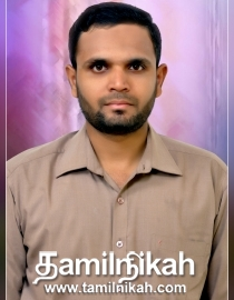 Choolai Muslim Matrimony Groom Profile-16658