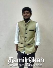 Kanchipuram Muslim Matrimony Groom Profile-12382