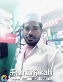Theni Muslim Matrimony Groom Profile-13773