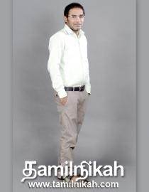 Karur Muslim Matrimony Groom Profile-15350